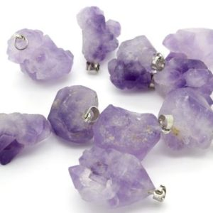 Shop Amethyst Chip & Nugget Beads! Amethyst, Natural Amethyst Rough Raw Pedant Gemstone Beads for Necklace Earrings. | Natural genuine chip Amethyst beads for beading and jewelry making.  #jewelry #beads #beadedjewelry #diyjewelry #jewelrymaking #beadstore #beading #affiliate #ad
