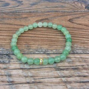 Shop Aventurine Shapes! Green Aventurine anklet – Heart chakra – dainty anklet | Natural genuine stones & crystals in various shapes & sizes. Buy raw cut, tumbled, or polished gemstones for making jewelry or crystal healing energy vibration raising reiki stones. #crystals #gemstones #crystalhealing #crystalsandgemstones #energyhealing #affiliate #ad