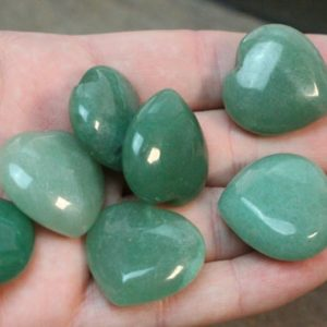 Shop Aventurine Shapes! Aventurine Shaped Heart H155 | Natural genuine stones & crystals in various shapes & sizes. Buy raw cut, tumbled, or polished gemstones for making jewelry or crystal healing energy vibration raising reiki stones. #crystals #gemstones #crystalhealing #crystalsandgemstones #energyhealing #affiliate #ad