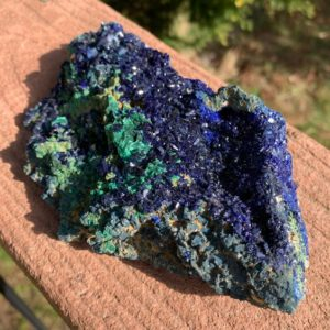 Shop Raw & Rough Azurite Stones! 1.57lb AZURITE with MALACHITE Crystal – Raw Mineral Specimen – Natural Stone – Healing Crystal – Meditation Stone – Collectible – From China | Natural genuine stones & crystals in various shapes & sizes. Buy raw cut, tumbled, or polished gemstones for making jewelry or crystal healing energy vibration raising reiki stones. #crystals #gemstones #crystalhealing #crystalsandgemstones #energyhealing #affiliate #ad