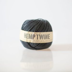 Black Hemp Twine – 1 mm – 430 feet | eco-friendly packaging- string for tags, jewelry & paper crafts | black wedding decor | Shop jewelry making and beading supplies, tools & findings for DIY jewelry making and crafts. #jewelrymaking #diyjewelry #jewelrycrafts #jewelrysupplies #beading #affiliate #ad