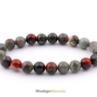 8mm Bloodstone Bracelet, Bloodstone Bracelets, Heliotrope Bracelets, Heliotrop Bracelets 8 Mm, Bloodstone Crystal, Bloodstone Mineral, Gift | Natural genuine Gemstone jewelry. Buy crystal jewelry, handmade handcrafted artisan jewelry for women.  Unique handmade gift ideas. #jewelry #beadedjewelry #beadedjewelry #gift #shopping #handmadejewelry #fashion #style #product #jewelry #affiliate #ad