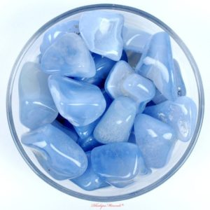 One 1 HUGE Blue Chalcedony Tumbled Stone, Blue Chalcedony Tumbled Stones, Blue Chalcedony Tumbled Stone, Healin Crystals, Healing Stones | Natural genuine stones & crystals in various shapes & sizes. Buy raw cut, tumbled, or polished gemstones for making jewelry or crystal healing energy vibration raising reiki stones. #crystals #gemstones #crystalhealing #crystalsandgemstones #energyhealing #affiliate #ad