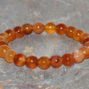 Shop Carnelian Bracelets! 8mm Carnelian Stacking Bracelet, A Grade, Healing Crystals, Motivation – Stone of Life Force & Vitality – Improve Concentration and Focus | Natural genuine Carnelian bracelets. Buy crystal jewelry, handmade handcrafted artisan jewelry for women.  Unique handmade gift ideas. #jewelry #beadedbracelets #beadedjewelry #gift #shopping #handmadejewelry #fashion #style #product #bracelets #affiliate #ad