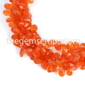 Shop Carnelian Bead Shapes! Carnelian Beads,Carnelian Faceted Briolette Pear Beads,Carnelian Pear Beads,AAA Quality Carnelian Beads,Carnelian Faceted,Wholesale Beads | Natural genuine other-shape Carnelian beads for beading and jewelry making.  #jewelry #beads #beadedjewelry #diyjewelry #jewelrymaking #beadstore #beading #affiliate #ad