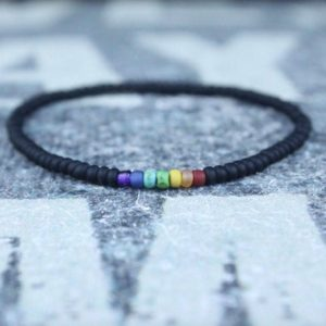 Shop Chakra Bracelets! Chakra Bracelet, Mala Bracelet, Mens Beaded Bracelet, Birthstone Bracelet, Boyfriend Gift, Mens Gift for Men, Mens Bracelet, Birthday Gift | Shop jewelry making and beading supplies, tools & findings for DIY jewelry making and crafts. #jewelrymaking #diyjewelry #jewelrycrafts #jewelrysupplies #beading #affiliate #ad