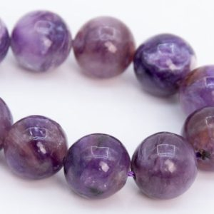 """Shop Charoite Round Beads! 10MM Multicolor Charoite Beads Russia Grade A Genuine Natural Gemstone Half Strand Round Loose Beads 7.5"""" Bulk Lot Options (108965h-2833) 