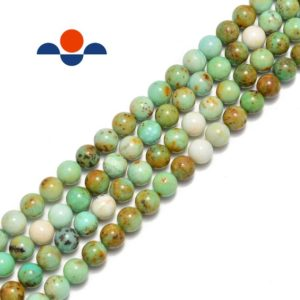 "Shop Chrysoprase Round Beads! Chrysoprase Smooth Round Beads 6mm 8mm 10mm 12mm 15.5"" per Strand 
