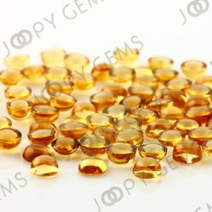 Citrine Cabochon 6mm Round – per stone | Natural genuine stones & crystals in various shapes & sizes. Buy raw cut, tumbled, or polished gemstones for making jewelry or crystal healing energy vibration raising reiki stones. #crystals #gemstones #crystalhealing #crystalsandgemstones #energyhealing #affiliate #ad