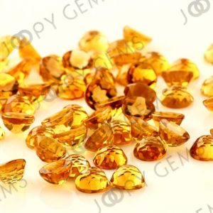 Citrine Rose Cut Cabochon 6mm Round – per stone | Natural genuine stones & crystals in various shapes & sizes. Buy raw cut, tumbled, or polished gemstones for making jewelry or crystal healing energy vibration raising reiki stones. #crystals #gemstones #crystalhealing #crystalsandgemstones #energyhealing #affiliate #ad