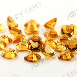 Citrine Rose Cut Cabochon 8mm Square Cushion – Per Stone | Natural genuine stones & crystals in various shapes & sizes. Buy raw cut, tumbled, or polished gemstones for making jewelry or crystal healing energy vibration raising reiki stones. #crystals #gemstones #crystalhealing #crystalsandgemstones #energyhealing #affiliate #ad