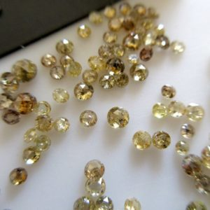 Shop Diamond Cabochons! 10 Pieces 1.5mm To 3mm Clear Yellow Cognac Champagne Diamond Rose Cut Loose, Sparkling Yellow Rose Cut Diamond Faceted Cabochon, DDS592 | Natural genuine stones & crystals in various shapes & sizes. Buy raw cut, tumbled, or polished gemstones for making jewelry or crystal healing energy vibration raising reiki stones. #crystals #gemstones #crystalhealing #crystalsandgemstones #energyhealing #affiliate #ad