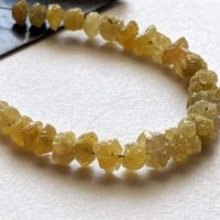 3.5-5mm Raw Yellow Diamond Beads, Natural Rough Yellow Diamond Beads, Uncut Diamond, Raw Yellow Diamond Necklace, 3 Inches – Ppd430 | Natural genuine Gemstone jewelry. Buy crystal jewelry, handmade handcrafted artisan jewelry for women.  Unique handmade gift ideas. #jewelry #beadedjewelry #beadedjewelry #gift #shopping #handmadejewelry #fashion #style #product #jewelry #affiliate #ad