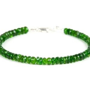 Shop Diopside Bracelets! Chrome Diopside Gemstone Bracelet, Handmade Jewelry, unique gift for wife, Handmade Gemstone Jewelry | Natural genuine Diopside bracelets. Buy crystal jewelry, handmade handcrafted artisan jewelry for women.  Unique handmade gift ideas. #jewelry #beadedbracelets #beadedjewelry #gift #shopping #handmadejewelry #fashion #style #product #bracelets #affiliate #ad