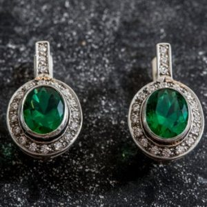 Shop Emerald Earrings! Emerald Earrings, Created Emerald, Vintage Earrings, Antique Emerald Earrings, Green Emerald Earrings, 925 Silver Earrings, Green Earrings | Natural genuine Emerald earrings. Buy crystal jewelry, handmade handcrafted artisan jewelry for women.  Unique handmade gift ideas. #jewelry #beadedearrings #beadedjewelry #gift #shopping #handmadejewelry #fashion #style #product #earrings #affiliate #ad