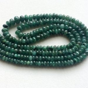 Shop Emerald Rondelle Beads! 3mm – 6mm Emerald Plain Rondelle Beads, Emerald Plain Beads, Emerald Plain Beads For Jewelry, Original Emerald (7IN To 14IN Options) | Natural genuine rondelle Emerald beads for beading and jewelry making.  #jewelry #beads #beadedjewelry #diyjewelry #jewelrymaking #beadstore #beading #affiliate #ad