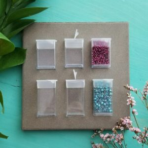 "Shop Storage for Beading Supplies! Flip Top Bead Boxes >> Small Bead Storage, Seed Bead Organizer, Clear Plastic Container – 1"" 1.25"" 1.5"" 2"" or 3"" Tall – 12, 20, or 50 pcs 