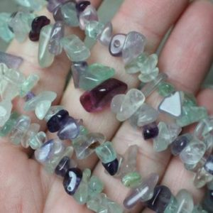 Fluorite Stretchy String Chip Bracelet G110 | Natural genuine Fluorite bracelets. Buy crystal jewelry, handmade handcrafted artisan jewelry for women.  Unique handmade gift ideas. #jewelry #beadedbracelets #beadedjewelry #gift #shopping #handmadejewelry #fashion #style #product #bracelets #affiliate #ad