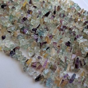 Shop Fluorite Chip & Nugget Beads! 5-10mm Fluorite Chips, Rainbow Fluorite Beads, Natural Fluorite Chips, Multi Fluorite Necklace, 32 Inch (1Strand To 5Strand Options) – ANT91 | Natural genuine chip Fluorite beads for beading and jewelry making.  #jewelry #beads #beadedjewelry #diyjewelry #jewelrymaking #beadstore #beading #affiliate #ad