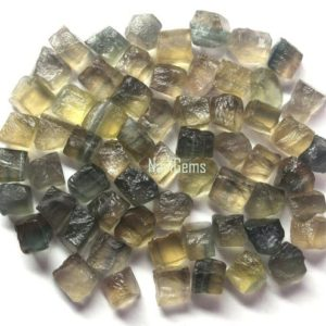 Shop Raw & Rough Fluorite Stones! AAA Quality 50 Piece Natural Fluorite Rough, Rough Gemstone,Making Jewelry,6-8 mm ,Undrilled Loose Gemstone,Gift For Her,Wholesale Price | Natural genuine stones & crystals in various shapes & sizes. Buy raw cut, tumbled, or polished gemstones for making jewelry or crystal healing energy vibration raising reiki stones. #crystals #gemstones #crystalhealing #crystalsandgemstones #energyhealing #affiliate #ad