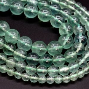 Shop Fluorite Beads! Genuine Natural Green Fluorite Loose Beads Grade AAA Round Shape 6mm 8mm 10mm 12mm | Natural genuine beads Fluorite beads for beading and jewelry making.  #jewelry #beads #beadedjewelry #diyjewelry #jewelrymaking #beadstore #beading #affiliate #ad