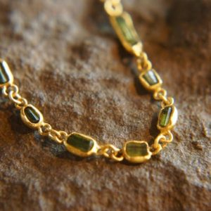 Shop Green Tourmaline Necklaces! gem gold necklace//24k gold necklace//green tourmaline necklace//tourmaline gold necklace//multi stone necklace//artisan hand made boho gold   Natural genuine Green Tourmaline necklaces. Buy crystal jewelry, handmade handcrafted artisan jewelry for women.  Unique handmade gift ideas. #jewelry #beadednecklaces #beadedjewelry #gift #shopping #handmadejewelry #fashion #style #product #necklaces #affiliate #ad