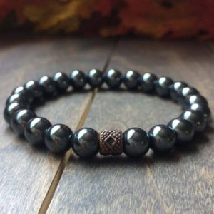 Shop Chakra Bracelets! Grounding – Chakra Bracelet, Hematite Bracelet, Chakra Bead Bracelet, Chakra Jewelry, Spiritual Bracelet  Real Stone Bracelet, Bracelet Bead | Shop jewelry making and beading supplies, tools & findings for DIY jewelry making and crafts. #jewelrymaking #diyjewelry #jewelrycrafts #jewelrysupplies #beading #affiliate #ad