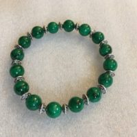 Green Jade Beads, Bracelet, Calming, Wrist Mala, Chakra Bracelet, Energized Bracelet, 8 Mm, Healing Bracelet, Buddhist Beads Bracelet | Natural genuine Gemstone jewelry. Buy crystal jewelry, handmade handcrafted artisan jewelry for women.  Unique handmade gift ideas. #jewelry #beadedjewelry #beadedjewelry #gift #shopping #handmadejewelry #fashion #style #product #jewelry #affiliate #ad