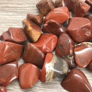 Shop Tumbled Jasper Crystals & Pocket Stones! Chestnut Jasper Tumbled Stone #T12 | Natural genuine stones & crystals in various shapes & sizes. Buy raw cut, tumbled, or polished gemstones for making jewelry or crystal healing energy vibration raising reiki stones. #crystals #gemstones #crystalhealing #crystalsandgemstones #energyhealing #affiliate #ad