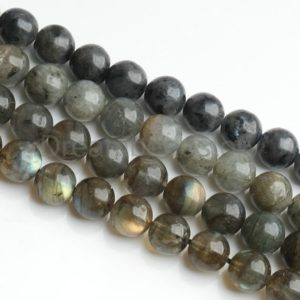 Shop Labradorite Bead Shapes! Labradorite Beads Natural AA AAA 6mm 8mm 10mm 12mm Healing Gemstone Beads Sold by One Strand | Natural genuine other-shape Labradorite beads for beading and jewelry making.  #jewelry #beads #beadedjewelry #diyjewelry #jewelrymaking #beadstore #beading #affiliate #ad