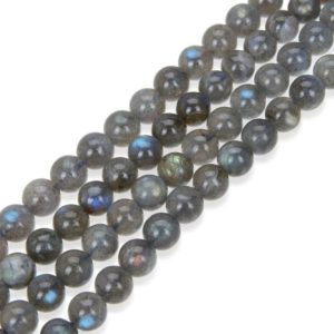 Shop Labradorite Round Beads! U Pick Natural Grade A Labradorite Gemstone 4mm 6mm 8mm 10mm Round Gems Stone Beads 15 inch Per Strand for Jewelry Craft Making GY33 | Natural genuine round Labradorite beads for beading and jewelry making.  #jewelry #beads #beadedjewelry #diyjewelry #jewelrymaking #beadstore #beading #affiliate #ad