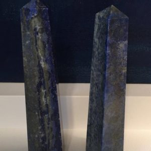 Shop Lapis Lazuli Points & Wands! Lapis Tower, Crystal Point, Healing Crystal, Healing Stone, Spiritual Stone, Chakra Stone | Natural genuine stones & crystals in various shapes & sizes. Buy raw cut, tumbled, or polished gemstones for making jewelry or crystal healing energy vibration raising reiki stones. #crystals #gemstones #crystalhealing #crystalsandgemstones #energyhealing #affiliate #ad