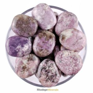 Shop Lepidolite Shapes! One 1 Smooth Lepidolite Stone, Palm Lepidolite Stone, Palm Smooth Stones Lepidolite, Palm Lepidolite Stones, Smooth Lepidolite Stones, Gift | Natural genuine stones & crystals in various shapes & sizes. Buy raw cut, tumbled, or polished gemstones for making jewelry or crystal healing energy vibration raising reiki stones. #crystals #gemstones #crystalhealing #crystalsandgemstones #energyhealing #affiliate #ad