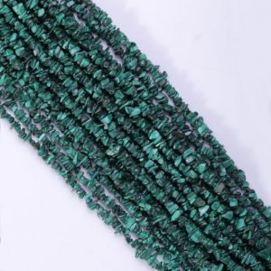 Shop Malachite Chip & Nugget Beads! Malachite Chips Natural Malachite Chips Gemstone Loose Beads Gemstone Beads Chips Gemstone Beads Supply 35 Inch Strand AAA Quality Malachite | Natural genuine chip Malachite beads for beading and jewelry making.  #jewelry #beads #beadedjewelry #diyjewelry #jewelrymaking #beadstore #beading #affiliate #ad