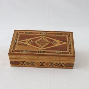 Shop Men's Jewelry Boxes! Marquetry Jewelry Box Vintage Handmade, Mother of Pearl Box, Jewelry Box for Men, Jewelry Box for Women, Gift for Him, Gift for Her, Syrian | Shop jewelry making and beading supplies, tools & findings for DIY jewelry making and crafts. #jewelrymaking #diyjewelry #jewelrycrafts #jewelrysupplies #beading #affiliate #ad