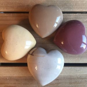 Shop Mookaite Stones & Crystals! Mookaite Gemstone Puffy Heart, 45mm, Healing crystals and stones | Natural genuine stones & crystals in various shapes & sizes. Buy raw cut, tumbled, or polished gemstones for making jewelry or crystal healing energy vibration raising reiki stones. #crystals #gemstones #crystalhealing #crystalsandgemstones #energyhealing #affiliate #ad
