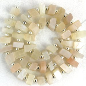 Shop Moonstone Chip & Nugget Beads! AAA Quality 1 Strand White Pink Moonstone,Moonstone Rough,Natural Gemstones,Raw Beads,7-10 MM,Moonstone Beads,Natural Rough,Wholesale Price | Natural genuine chip Moonstone beads for beading and jewelry making.  #jewelry #beads #beadedjewelry #diyjewelry #jewelrymaking #beadstore #beading #affiliate #ad