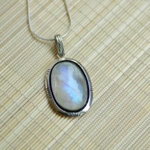 Shop Moonstone Pendants! Glowing Moonstone Sterling Silver Oval Pendant // Lightning Sterling Silver Moonstone Pendant // Rainbow Shine Moonstone Necklace | Natural genuine Moonstone pendants. Buy crystal jewelry, handmade handcrafted artisan jewelry for women.  Unique handmade gift ideas. #jewelry #beadedpendants #beadedjewelry #gift #shopping #handmadejewelry #fashion #style #product #pendants #affiliate #ad