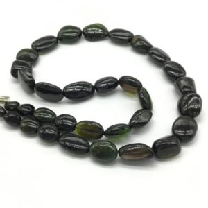 Shop Green Tourmaline Necklaces! multi tourmaline plain tumble natural gemstone necklace 18'' gemstone necklace lock set necklace tourmaline gemstone for jewels | Natural genuine Green Tourmaline necklaces. Buy crystal jewelry, handmade handcrafted artisan jewelry for women.  Unique handmade gift ideas. #jewelry #beadednecklaces #beadedjewelry #gift #shopping #handmadejewelry #fashion #style #product #necklaces #affiliate #ad