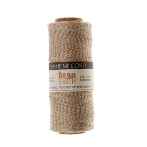 Shop Hemp Twine! Natural Beige 0.5mm Natural Hemp Twine Bead Cord. 120 meters 394 feet long | Shop jewelry making and beading supplies, tools & findings for DIY jewelry making and crafts. #jewelrymaking #diyjewelry #jewelrycrafts #jewelrysupplies #beading #affiliate #ad