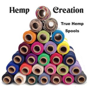 Shop Hemp Twine! NATURAL HEMP TWINE – Package of 33 True Hemp Spools – 1mm/20lb  – 50gram per spool | Shop jewelry making and beading supplies, tools & findings for DIY jewelry making and crafts. #jewelrymaking #diyjewelry #jewelrycrafts #jewelrysupplies #beading #affiliate #ad