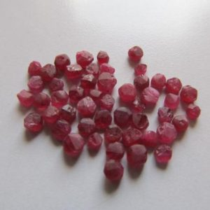 Shop Raw & Rough Ruby Stones! Natural Untreated raw mozambique ruby beads-Undrilled Ruby- Unpolished ruby- Unfaceted ruby-Raw ruby beads- Lot Code-R21,R22,R23,R24,R25 | Natural genuine stones & crystals in various shapes & sizes. Buy raw cut, tumbled, or polished gemstones for making jewelry or crystal healing energy vibration raising reiki stones. #crystals #gemstones #crystalhealing #crystalsandgemstones #energyhealing #affiliate #ad