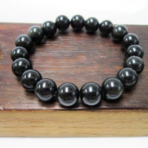 Black Obsidian Bracelet Black Obsidian Chakra Bracelet Black Obsidian Healing Bracelet Yoga Meditation Black Obsidian Protection Sagittarius | Natural genuine Array bracelets. Buy crystal jewelry, handmade handcrafted artisan jewelry for women.  Unique handmade gift ideas. #jewelry #beadedbracelets #beadedjewelry #gift #shopping #handmadejewelry #fashion #style #product #bracelets #affiliate #ad