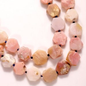 "Shop Opal Bead Shapes! 85 Cts Pink Opal Gemstone Beads -"" PINK OPAL BEADS ""- Loose Opal Uncut Stone , Making Jewelry Opal , Beads , 