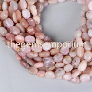 Shop Opal Bead Shapes! Pink Opal Plain Smooth Oval Shape Gemstone Beads, Pink Opal Plain Smooth Oval Shape Beads,Pink Opal Plain Smooth Gemstone Beads | Natural genuine other-shape Opal beads for beading and jewelry making.  #jewelry #beads #beadedjewelry #diyjewelry #jewelrymaking #beadstore #beading #affiliate #ad