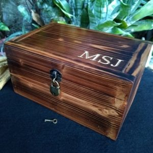 Shop Storage for Beading Supplies! Personalized Wooden Box with Lock, Mens Valet Box Fathers Day Gift for Him, Keepsake Box Engraved Mens Jewelry Box, Memory Box with Lock | Shop jewelry making and beading supplies, tools & findings for DIY jewelry making and crafts. #jewelrymaking #diyjewelry #jewelrycrafts #jewelrysupplies #beading #affiliate #ad