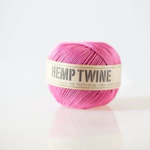 Shop Hemp Twine! Pink Hemp Twine – 1 mm – 430 feet | eco-friendly packaging- string for tags, jewelry & paper crafts |  birthday party decor | Shop jewelry making and beading supplies, tools & findings for DIY jewelry making and crafts. #jewelrymaking #diyjewelry #jewelrycrafts #jewelrysupplies #beading #affiliate #ad