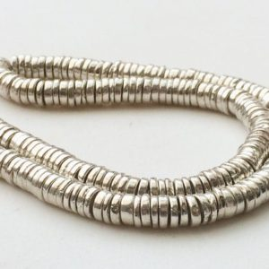 Shop Pyrite Necklaces! 6mm Silver Pyrite Tyre Beads, Silver Pyrite Plain Spacer Beads, Silver Pyrite For Necklace, Pyrite Gems (7IN To 14IN Options) – AGP193   Natural genuine Pyrite necklaces. Buy crystal jewelry, handmade handcrafted artisan jewelry for women.  Unique handmade gift ideas. #jewelry #beadednecklaces #beadedjewelry #gift #shopping #handmadejewelry #fashion #style #product #necklaces #affiliate #ad