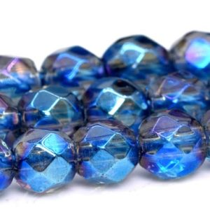 """Shop Quartz Crystal Faceted Beads! 4MM Blue Crystal Quartz Beads Grade AAA Natural Gemstone Full Strand Faceted Round Loose Beads 15.5"""" BULK LOT 1,3,5,10 and 50 (102159-457)   Natural genuine faceted Quartz beads for beading and jewelry making.  #jewelry #beads #beadedjewelry #diyjewelry #jewelrymaking #beadstore #beading #affiliate #ad"""