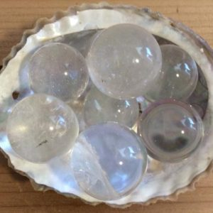 Shop Quartz Stones & Crystals! Clear Quartz Mini Sphere,Spiritual Stone, Healing Stone, Healing Crystal, Chakra Stone | Natural genuine stones & crystals in various shapes & sizes. Buy raw cut, tumbled, or polished gemstones for making jewelry or crystal healing energy vibration raising reiki stones. #crystals #gemstones #crystalhealing #crystalsandgemstones #energyhealing #affiliate #ad